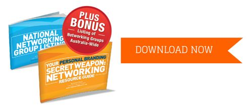 Download your personal branding secret weapon: Networking Resource Guide
